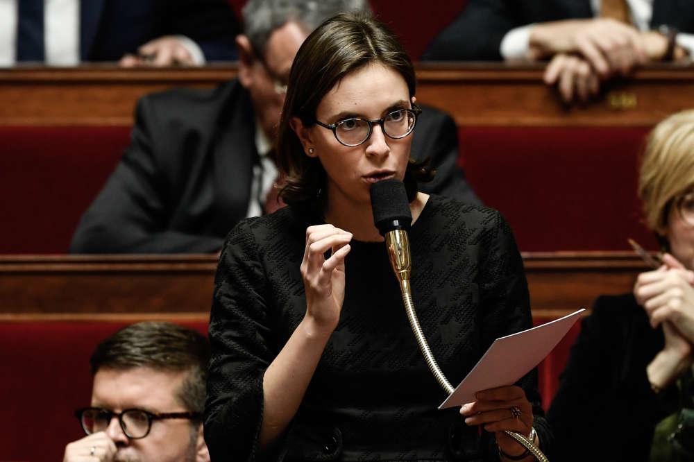 La députée de l'Essonne Amélie de Montchalin.