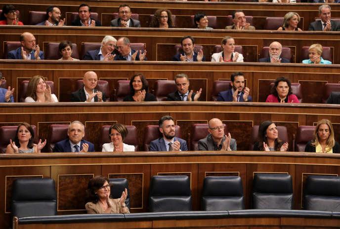 La chambre a approuvé le texte par 172 voix pour, 2 contre et 164 abstentions.