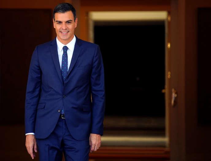 Pedro Sanchez, le 13 septembre à Madrid.