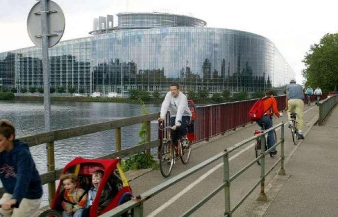 A Strasbourg, en 2004.