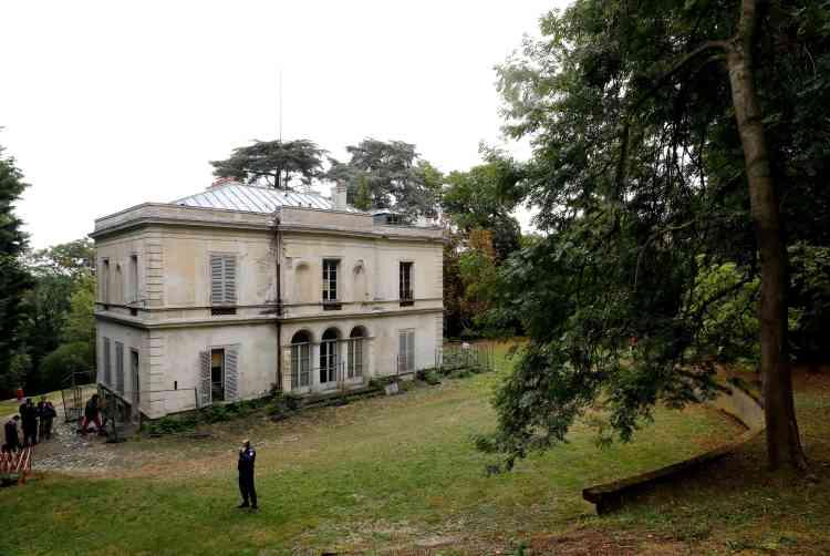 La villa Viardot, ancienne demeure de l'écrivain russe Ivan Tourgueniev à Bougival, près de Paris.