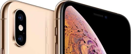 Les smartphones les plus chers d'Apple sont disponibles dans une finition qui évoque un lingot d'or.