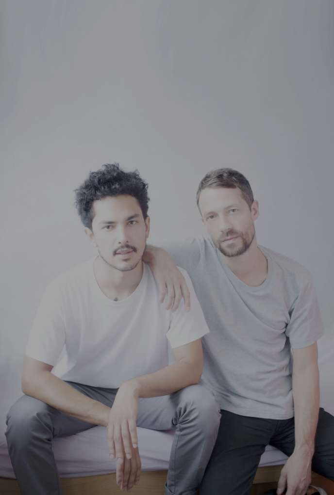 Guillaume et Jonathan Alric, duo électro baptisé The Blaze.