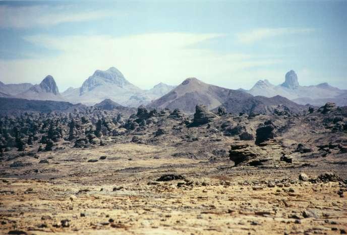 Le Tibesti, à l'extrême nord du Tchad.