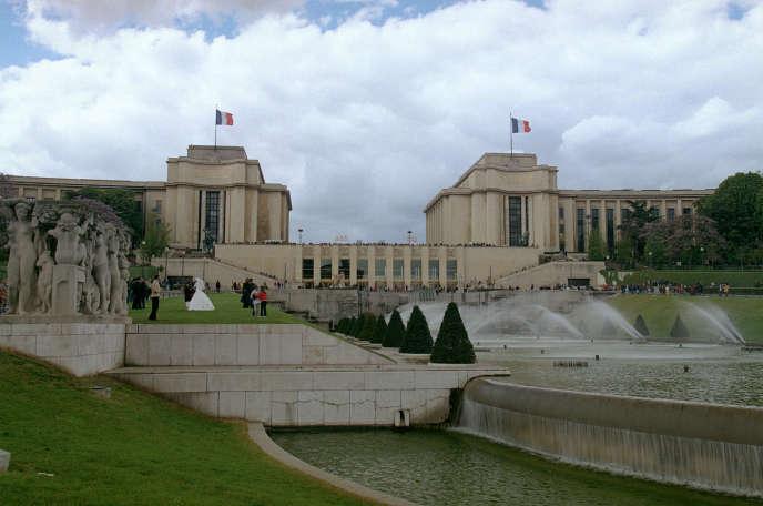 Le palais de Chaillot (ici en 2002), qui abritait la Cinémathèque française jusqu'en 2005.