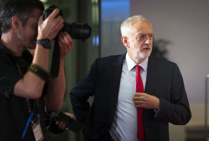 Le leader du Parti travailliste, Jeremy Corbyn, à Edimbourg (Ecosse), le 23 août.