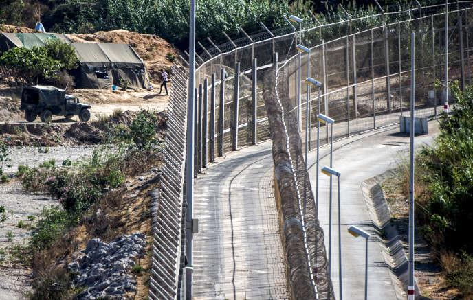 L'enclave de Ceuta, où arrivent de nombreux migrants par voie terrestre.