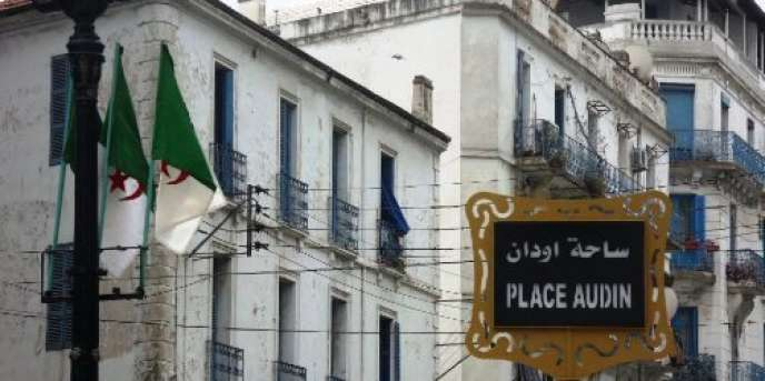 Place Maurice-Audin à Alger.