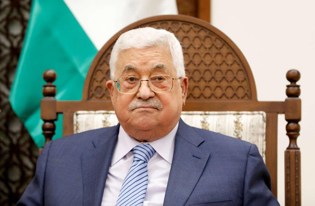 Le président de l'autorité palestinienne, Mahmoud Abbas, à Ramallah, le 29 août.