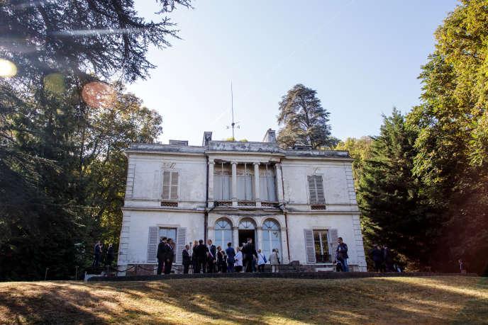 La villa Viardot, le 15 septembre.