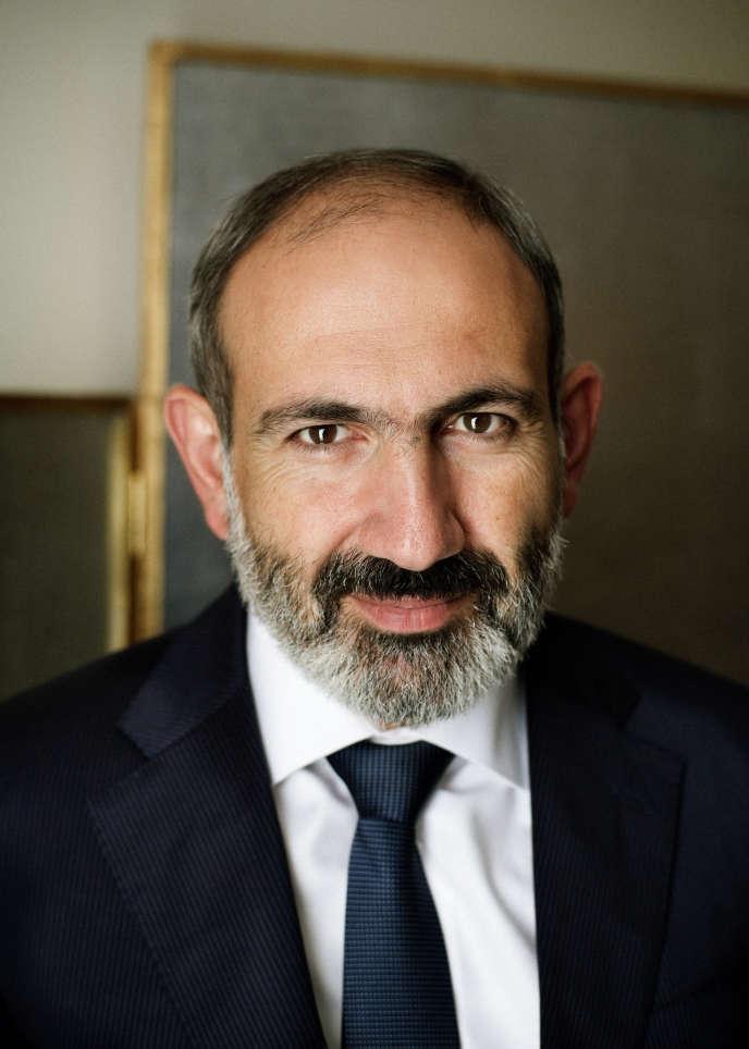 Le premier ministre arménien, Nikol Pachinian, le 14 septembre à Paris.