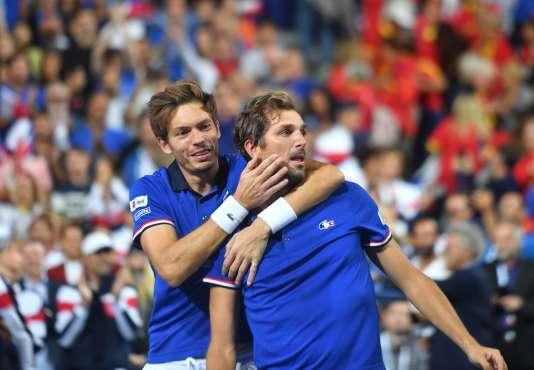 Nicolas Mahut et Julien Benneteau ont hissé les Bleus en finale.