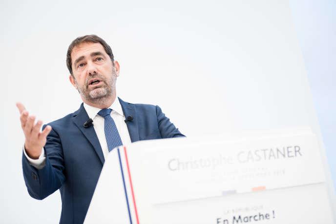 Christophe Castaner, délégué général de La République en marche, le 14 septrembre.