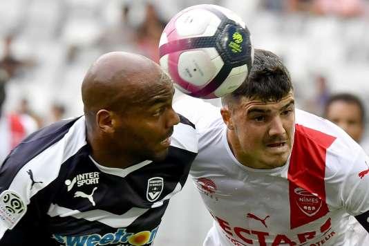 Jimmy Briand a inscrit un doublé, mais Bordeaux a concédé le match nul (3-3) face à Nîmes.