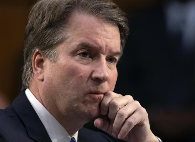 Le candidat à la Cour suprême des Etats-Unis, Brett Kavanaugh, le 6 septembre.