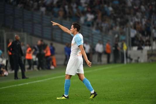 Après une première mi-temps compliquée, Thauvin a ouvert le score pour l'OM, avant d'inscrire un but superbe en fin de match.