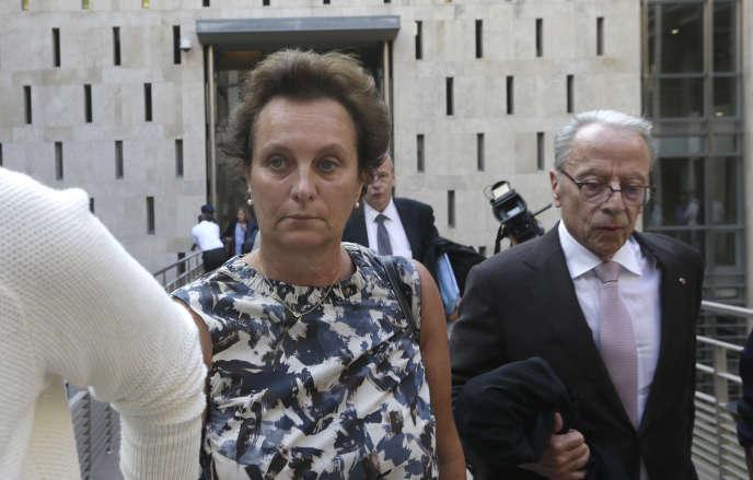 Sylvia Janowski, la fille d'Hélène Pastor, le 17 septembre 2018.