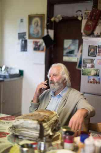 Willie Daly, 76 ans, est une figure du festival. Il est marieur professionnel depuis plus d'un demi-siècle, comme avant lui son père et son grand-père.
