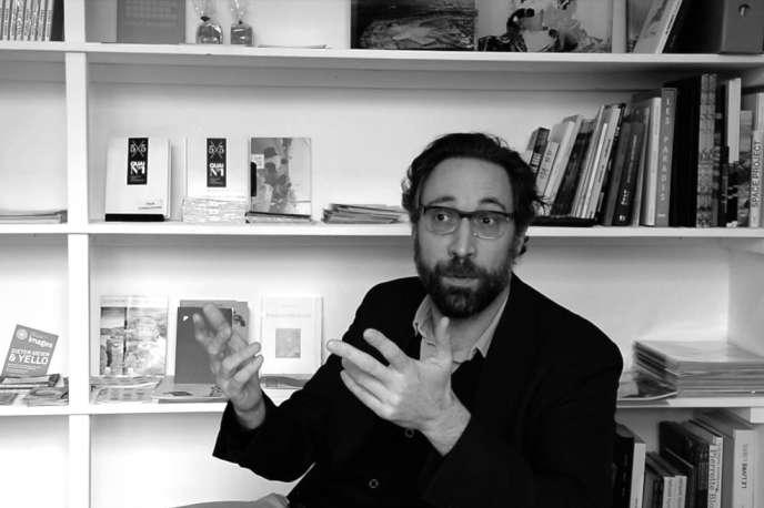 Stefano Stoll, directeur du Festival Images,la biennale d'arts visuels de Vevey (Suisse).
