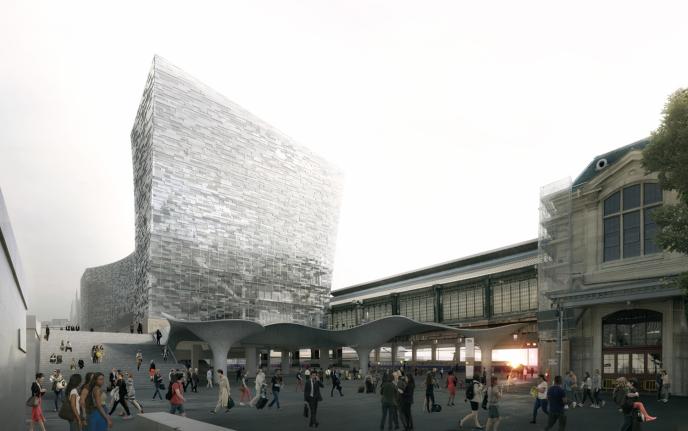 Paris le xiiie arrondissement aura deux des plus grandes tours