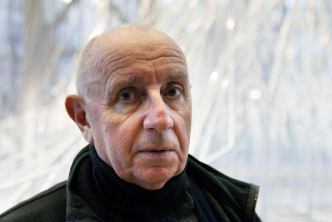 Paul Virilio – ici en novembre 2002 –, urbaniste et philosophe, est mort à l'âge de86ans.