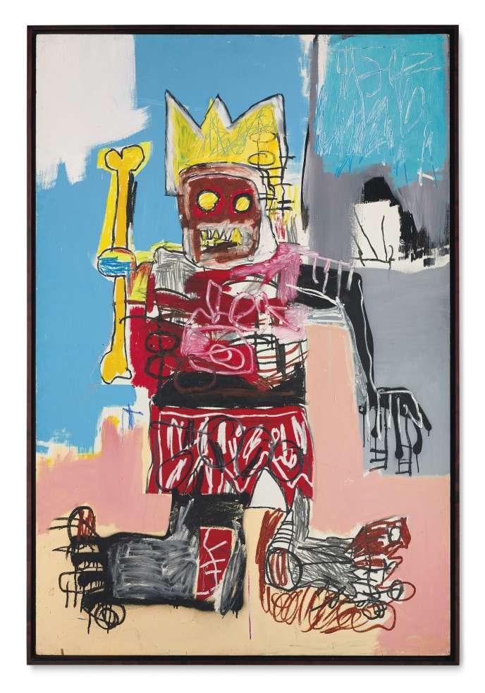 Jean-Michel Basquiat, sans titre, 1982.