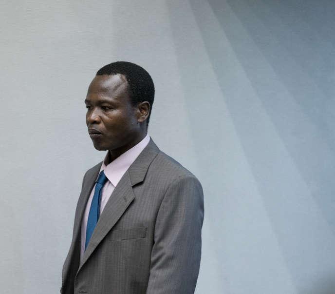 L'Ougandais Dominic Ongwen, accusé de «crimes contre l'humanité» et de «crimes de guerre»devant la Cour pénale internationale, en décembre 2016.