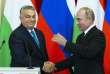 Viktor Orban et Vladimir Poutine au Kremlin, lors d'une visite du président hongrois à Moscou, le 18 septembre 2018.
