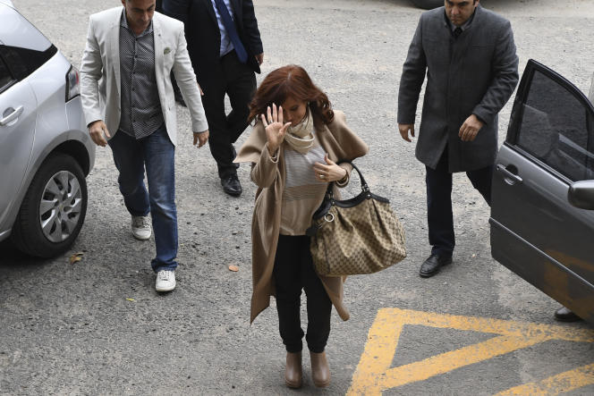 Cristina Kirchner, le 3 septembre au tribunal fédéral de Buenos Aires.