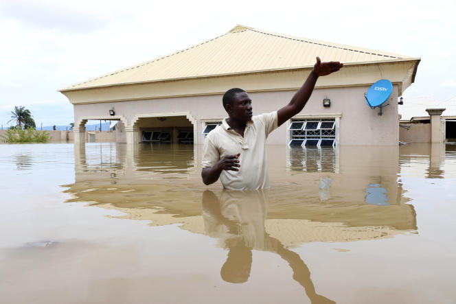 A Lokoja, dans l'Etat de Kogi, au centre du Nigeria, le 14 septembre 2018.