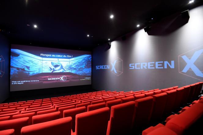 Au cinéma Pathé du Parc de La Villette, à Paris, en juillet.