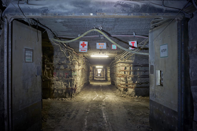 Le site de stockage Stocamine à Wittelsheim en Alsace.