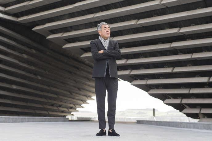 L'architecte Kengo Kuma à Dundee (Ecosse), le 11 septembre 2018.