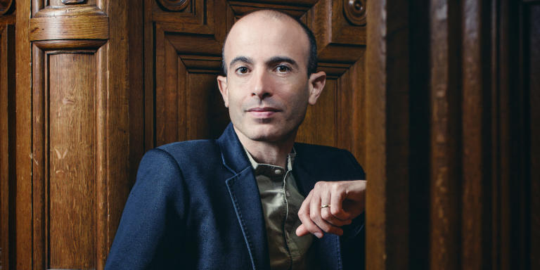 Yuval Noah Harari, ne en 1976, professeur, auteur du best-seller Sapiens, Une breve histoire de l'humanite, Homo Deus, Une breve histoire de l'avenir