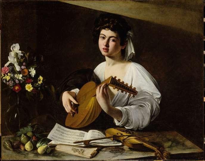 Pour être présent à Paris, «Le Joueur de luth», propriété du Musée de L'Ermitage à Saint-Pétersbourg, a été provisoirement échangé contre une œuvre d'Uccello.