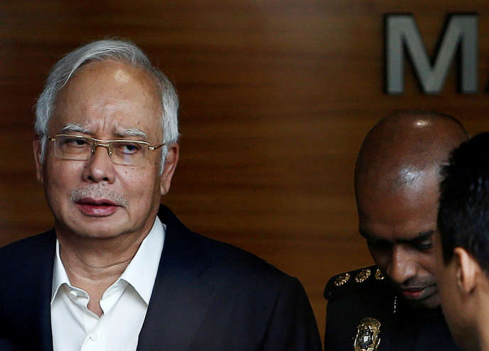 L'ancien premier ministre malaisien, Najib Razak, le 24 mai 2018.
