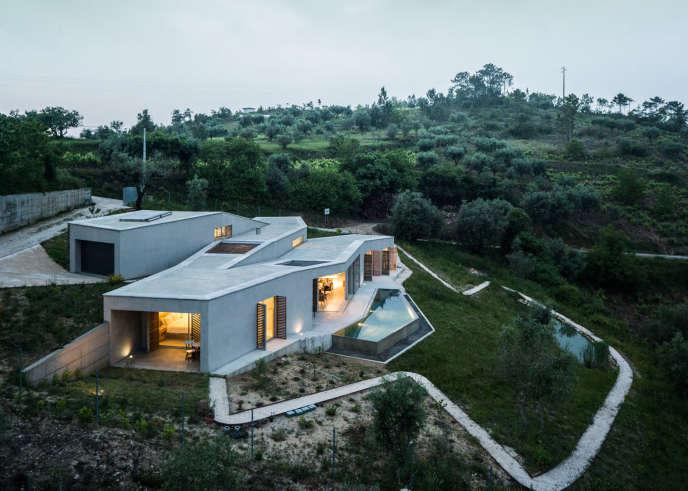 La casa na Gateira, au Portugal.