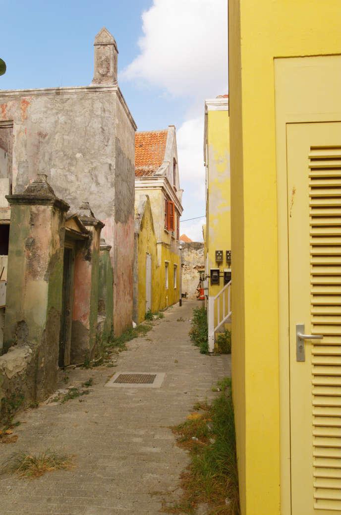 A Otrobanda, vieux quartier de Willemstad, la capitale de Curaçao.