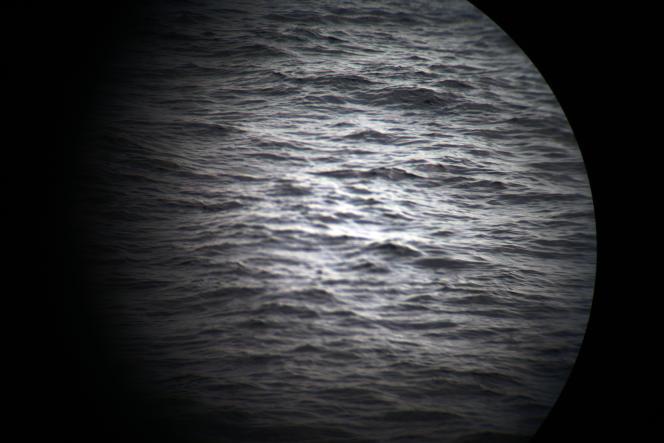 A bord de l'«Aquarius», le 18 septembre. Avant d'entrer dans la zone SAR («search and rescue»), au large de la ville de Sfax, Tunisie.