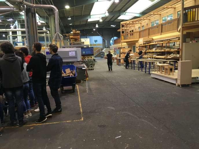 Ecole nationale supérieur des technologies et industries du bois (Enstib).