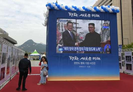 La Corée du Nord fermera son site d'essai de Tongchang-ri, a annoncé mercredi19septembre le président sud-coréen, Moon Jae-in.