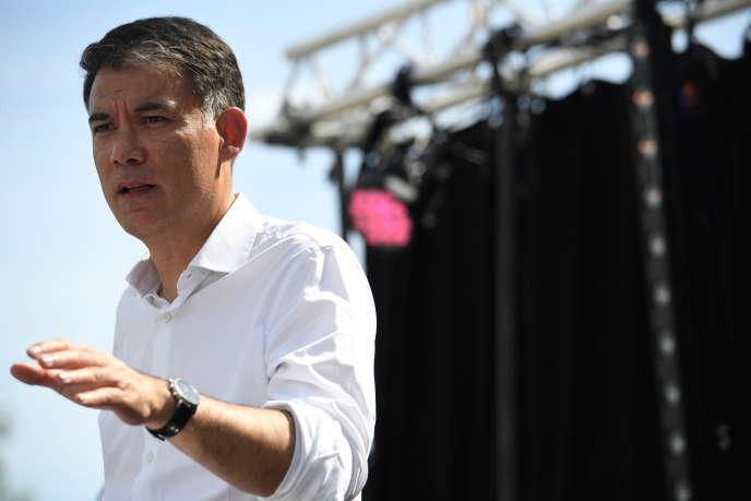 Le premier secrétaire du Parti socialiste, Olivier Faure, le 8 septembre.