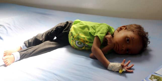 Yémen: plus de 5millions d'enfants menacés de famine