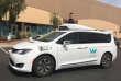 Un véhicule autonome de Waymo, filiale de Google, en test à Chandler (Arizona), le 21 mars.