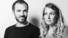 Antonin Iommi-Amunategui et Anne Zunino dirigent de la maison d'édition Nouriturfu.