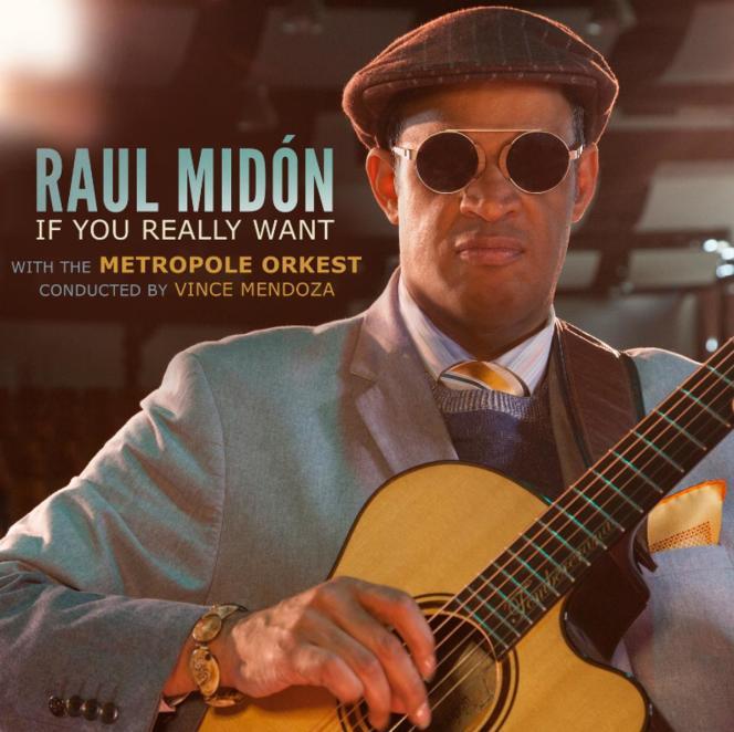 Pochette de l'album« If You Really Want», de Raul Midon, avec le Metropole Orkest, dirigé par Vince Mendoza.