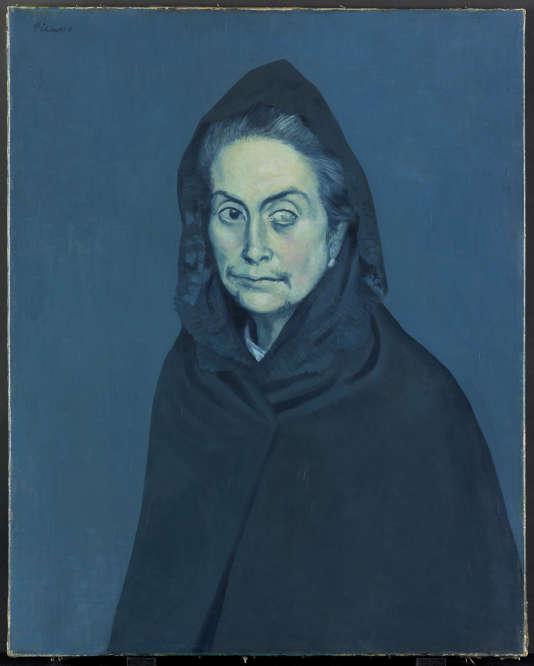 «La Célestine» (1904), de Picasso, huile sur toile, Musée national Picasso-Paris.
