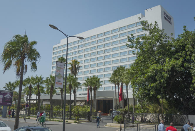 L'hôtel Hyatt, à Casablanca, où sera organisé la Campus Fair.