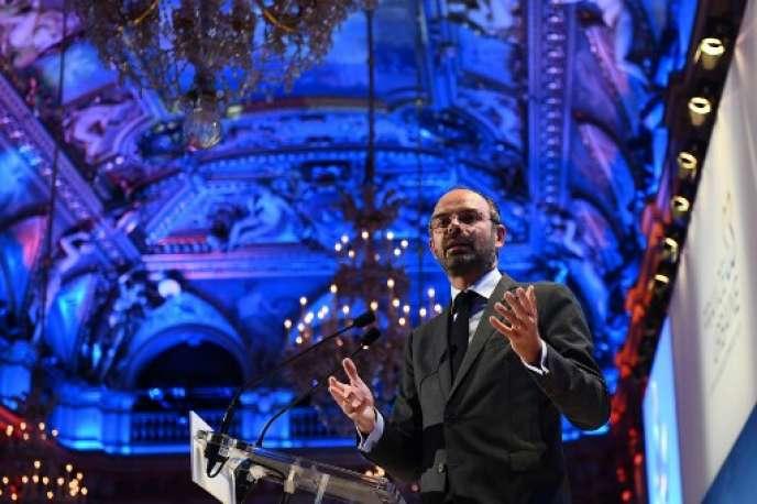Edouard Philippe a présenté, jeudi 20 septembre, un plan pour inciter les entreprises à investir dans le numérique. Ici,le 19 septembre à Paris.