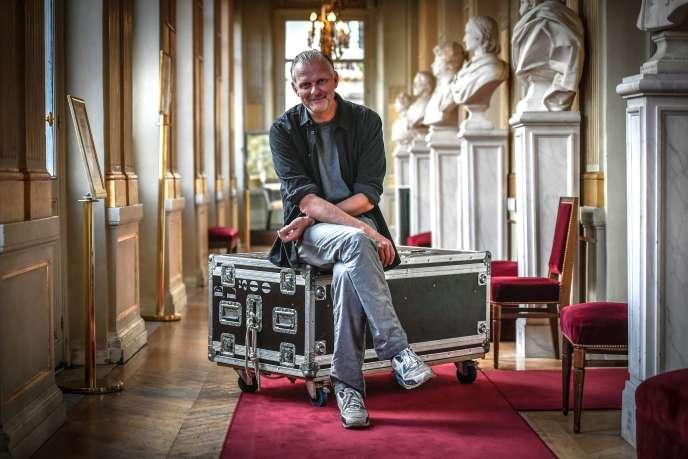 Le metteur en scène allemand Thomas Ostermeier à la Comédie-Française, à Paris, le 19 septembre 2018.